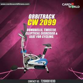 New year special offer on Orbitrecks with Dumbbells & Twister attached