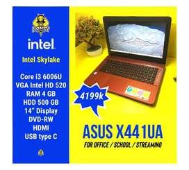 Laptop Asus X441UA   Intel Core i3 Skylake 4GB/500GB
