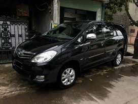 Toyota Kijang Innova/ Inova Tipe G Manual Tahun 2010 Hitam Mulus, 2009