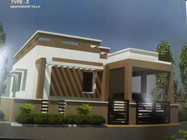 Saravanampatti it near dtcp approved site 2bhk house sales in30lakh