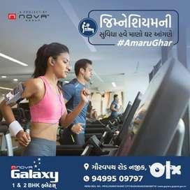 `Available 1BHK Flats in Nova Galaxy at Palanpur Location - Surat