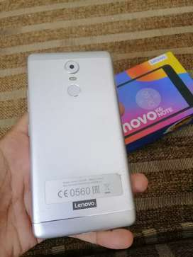 Lenovo k6 note 10/9 condition complete box