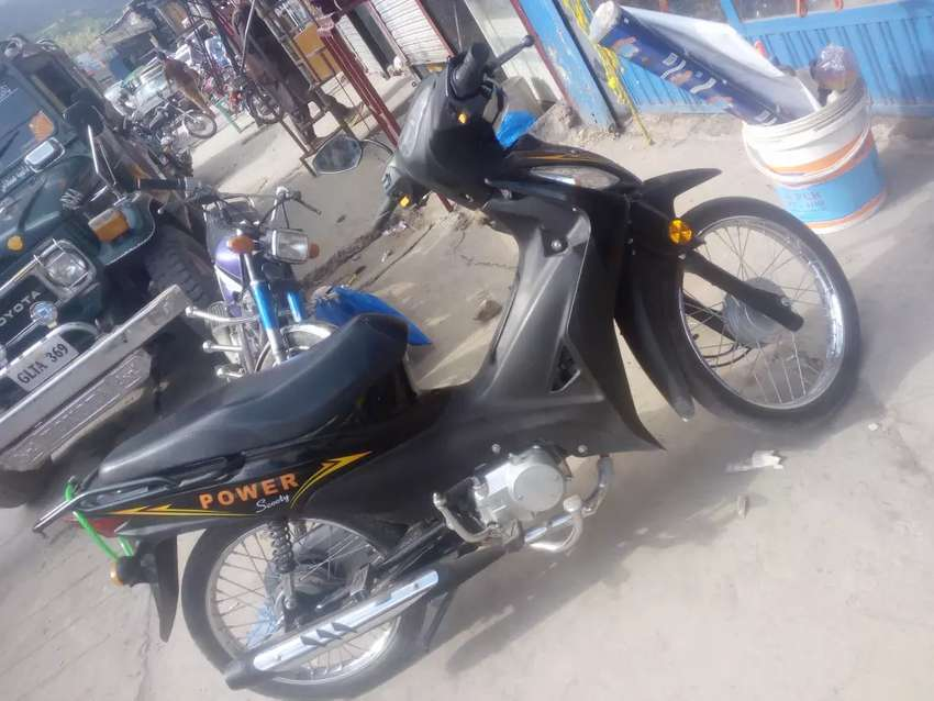 Sulf and kick start bike for sale with its genuine parts 0