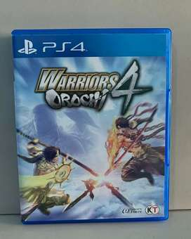 Bd Ps4 Game Warriors Orochi 4