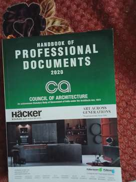 Handbook of professional documents 2020 council of architecture