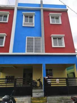 Flat  Rent @ Gudvancheey SRM School & Vellammal Dav  Market junction