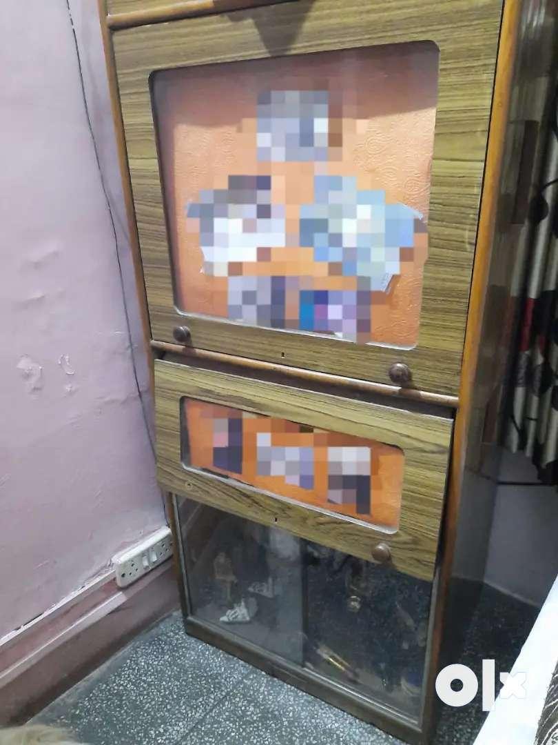 Wooden cupboard 0