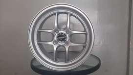 Velg murah enkei tunning ring15x6.5 h4x100 et35 on Honda city kia