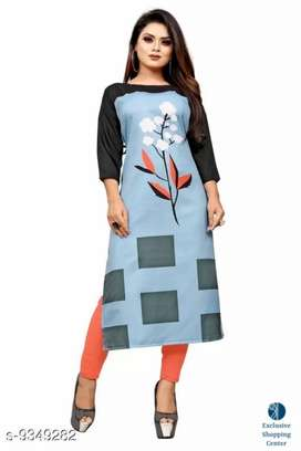 Women's New Gorgeous Kurti with Cash on delivery