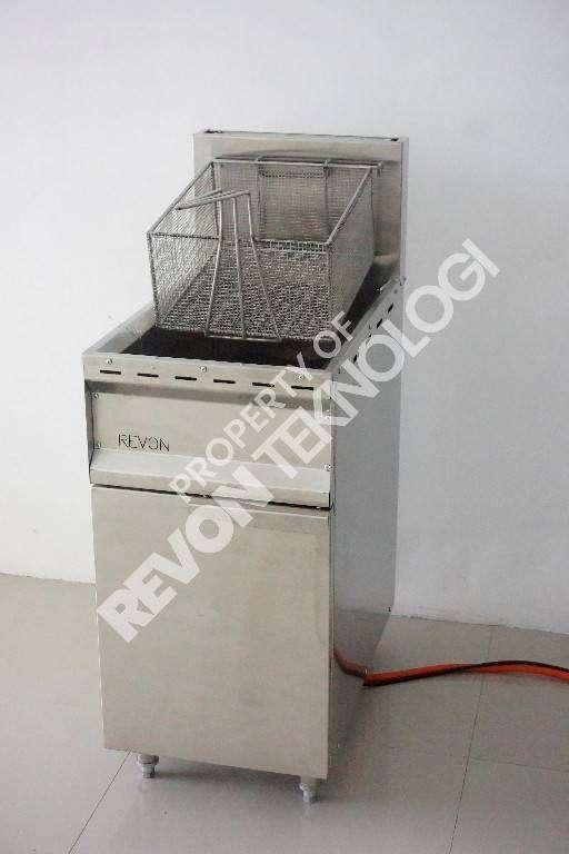deep fryer dengan thermostat mesin penggoreng ayam fried chicken Tarak