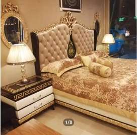 Beautiful Luxury Bed set king size with Grace