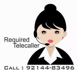 Required Female Telecaller for Insurance Sector
