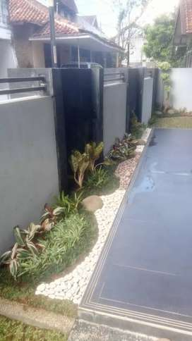 Jasa tukang pembuatan taman minimalis-ready bisa langsung di kerjakan