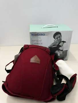 Gendongan Baby Carrier Aiebao 6626 Animal 4 in 1 new Maroon