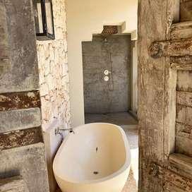 Bathtub Nuansa Padang Semua Model Terrazzo
