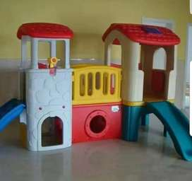 School Crafts Play House Slides