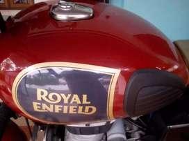 ROYAL ENFIELD - CLASSIC 350 - CHESNUT COLOR-16000KM(2016 MODEL)