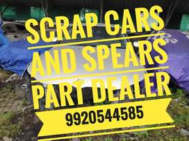 We deal with premium scrap cars and parts