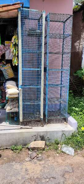 Iron net racks (2pcs)