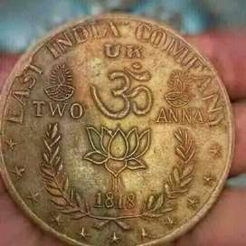 200 year old coin