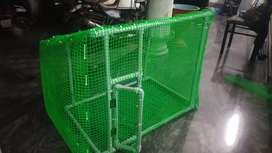 Brid cage preferred for love birds