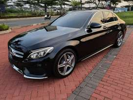 [[LOW KM 15rb]] MERCEDES BENZ C300 2018 W205 PANORAMIC SUNROOF 2017