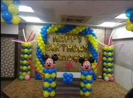 BALLOON DECORATIONS BIRTHDAY PARTY