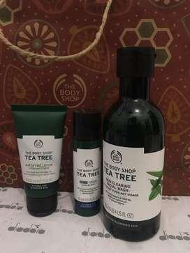 Paket the body shop tea tree baru