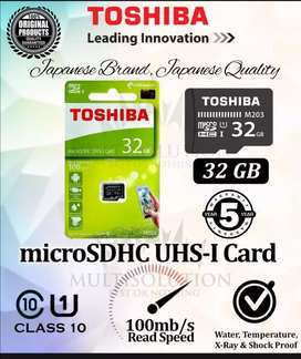 Memory card 1 sal warrenty.toshiba