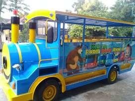 odong2 kereta wisata mainan eskavator keruk capit L05