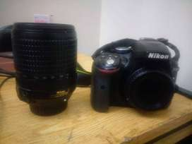 Nikon D5300 with 18-140mm lense