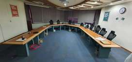 Conference table also all furniture