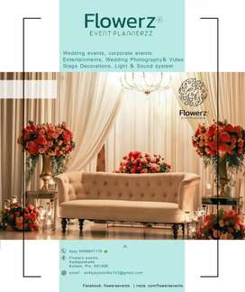 Event management company.    Flowerz  Event plannerzz