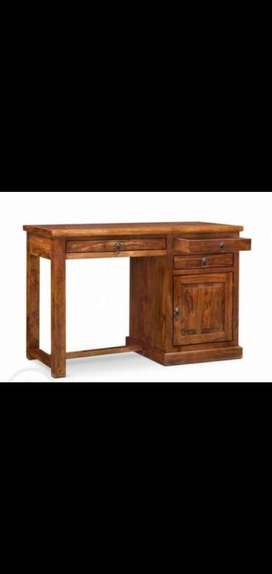 Study Table, WorkStation. Solid Sheesham wood.Brand new FabInd Piece