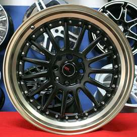Velg Racing R17 Hole 8 For Vios,City,Baleno,Mobilio (bisa credit)