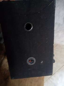 Amplifier with box