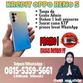 OPPO RENO 5 kredit tanpa DP proses lewat WhatsApp