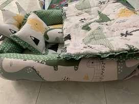 bumbee tempat tidur kasur bayi empuk kain jepang