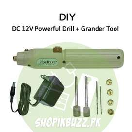 High Speed Mini Hand Held DC Drill Machine Non rechargeable