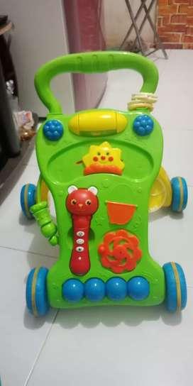 Baby push walker ( alat bantu jalan anak )