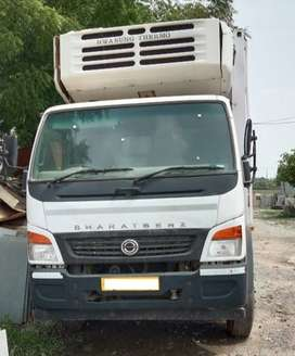 Bharat Benz Truck with Refrigerated Container