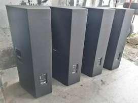 Sound box manufacturer symbol