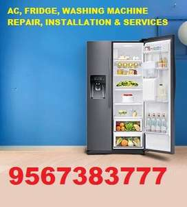 AC, FRIDGE, WASHING MACHINE, CCTV, TV  REPAIR, INSTALLATION & SERVICES