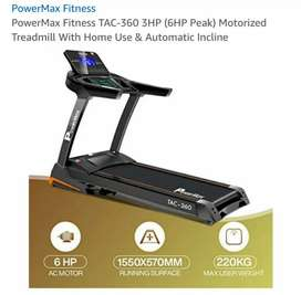 Powermax Treadmill TAC- 360 (2020 Model) New condition