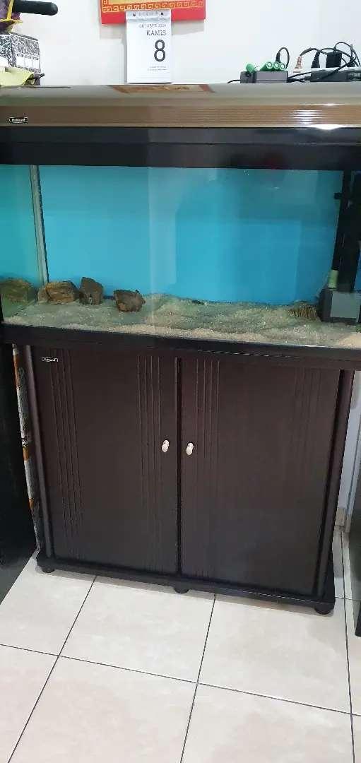 akuarium / Aquarium fishland ukuran P 100 x L 44 x T 147 cm 0