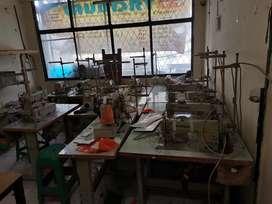 Mesin Jahit dan Mesin Obras Borongan