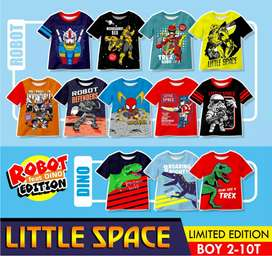 Kaos anak branded - LITTLE SPACE ORIGINAL - kaos anak murah