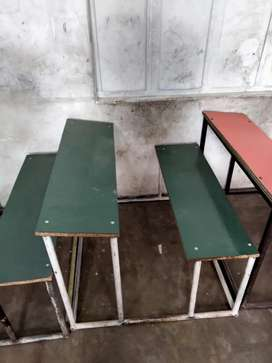 Junior school desks and tablas