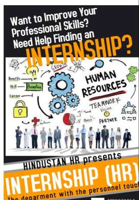 HR Recruitment Internship For College students & Fresher's @ Nagercoil