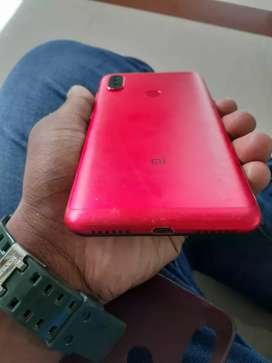 Redmi note 6 pro, no scratches,  Red colour